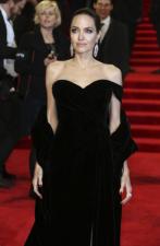 BAFTA Awards 2018:  Angelina Jolie looks divine in off-shoulder black gown