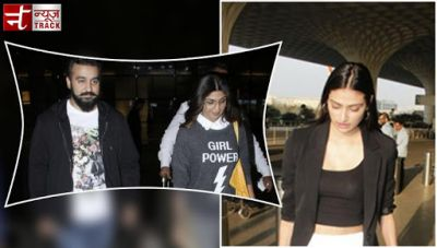 Airport fashion goals: Shilpa Shetty and Athiya Shetty's appeared in a perfect look at airport