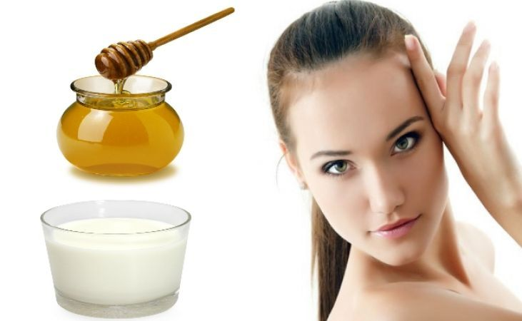 Milk and honey will make your skin soft and glowing