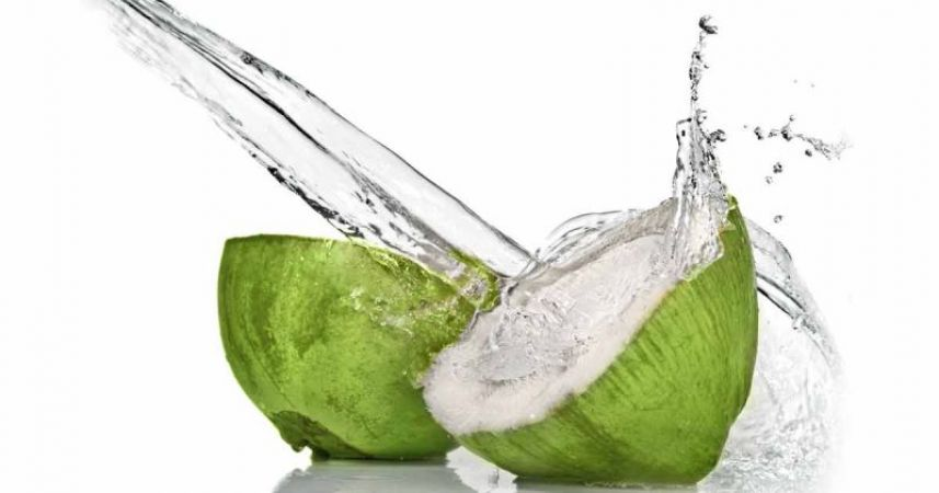 Coconut water removes pimples problem