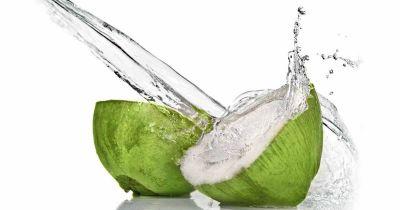 Coconut water removes pimples problem