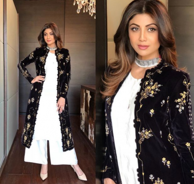 Have a look: Shilpa Shetty Kundra's ethnic wear is must save photo