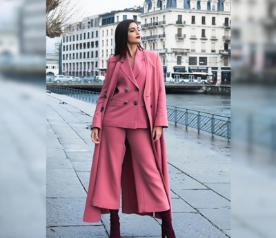 Photos: Sonam Kapoor in a perfect pink attire