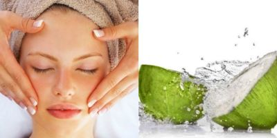 Daily use of Coconut water never make your skin dull