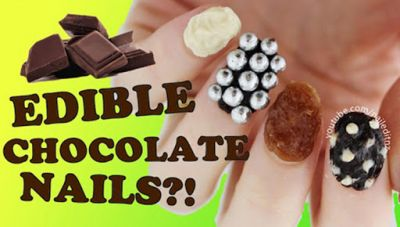 Latest Beauty Trend- Delicious Chocolate Nail Art!