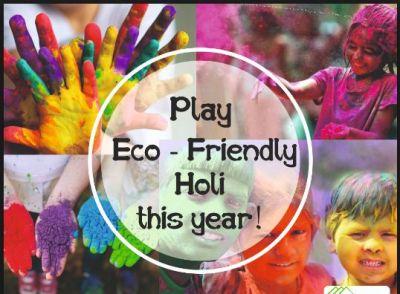 Holi 2019: Some ways to play Eco-Friendly Holi