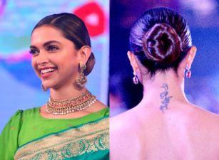 4 Steps to make a classic bun like Deepika