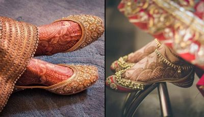 6 Punjabi Jutti Designs Every Bride Must Have!!