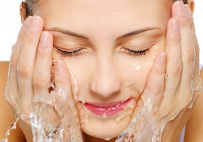 Double cleanse your face for a radiant look
