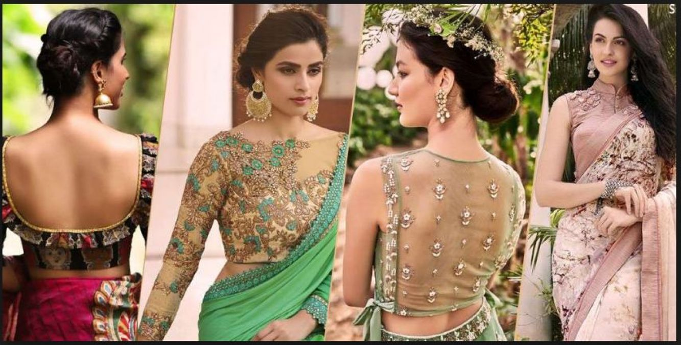 Trendy Blouse designs to style in this summer