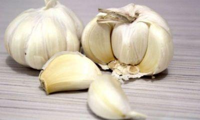Garlic will  remove problems like scars, wrinkles, acne, eczema