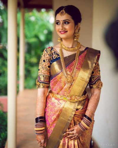 Beauty hacks to nail South Indian bridal look for wedding