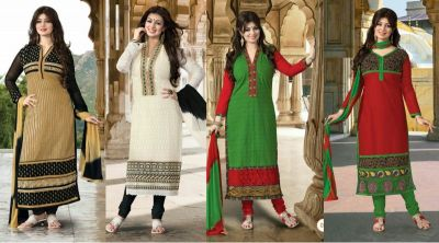 Get  this different style of Salwar kameez  in Navratri festivity