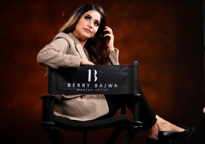 Berry Bajwa : An Ace Makeup Artist Popular for the  breathtaking makeup looks.