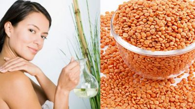 Use this 'Masoor Dal' pack to have pimple free skin !