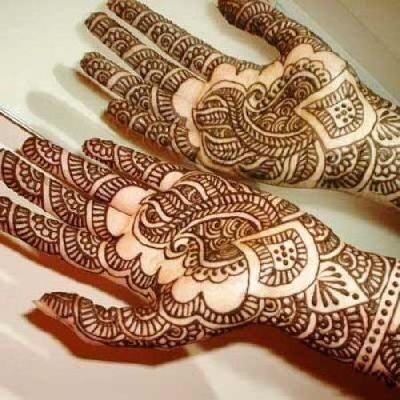 mehandi design for women