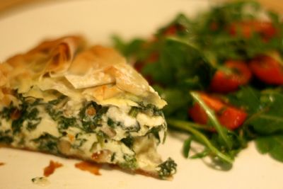 Give a healthy start to your day with Spinach Filo Pastry