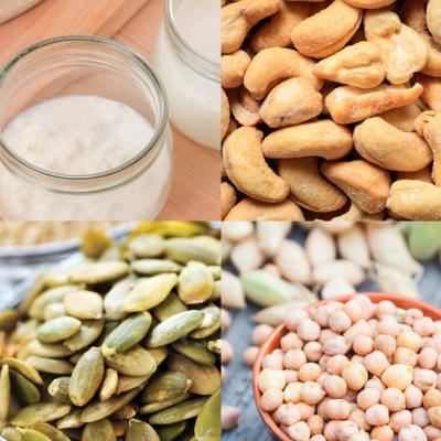 These foods supply plenty of Zinc and repair tissues and muscles