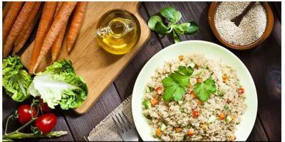 High protein rich diet: Cook Quinoa In Indian desi style…way inside