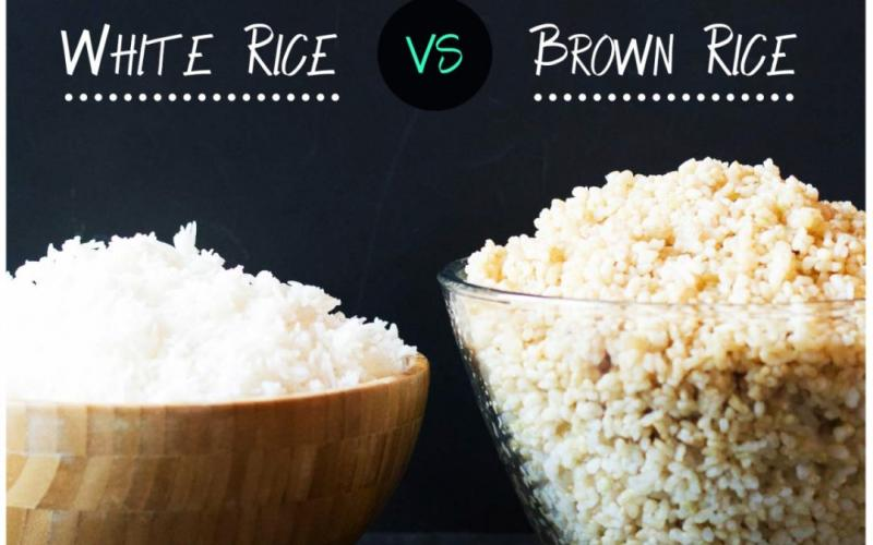 Which rice is more useful - brown or white?