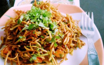 Make Yummy Chinese Bhel at home