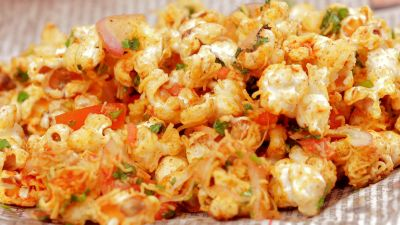 A twist in your Bhel recipe with Popcorn