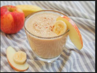 This Yummy apple milkshake recipe is healthy and tasty too...nutritional values given inside