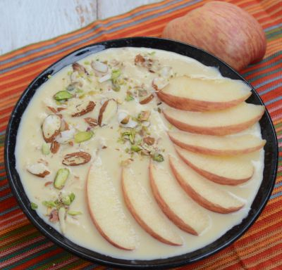 Make delicious Apple Rabdi with this simple recipe