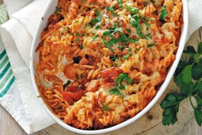 Make Veg Cheese Tomato Pasta for your kid with this easy recipe