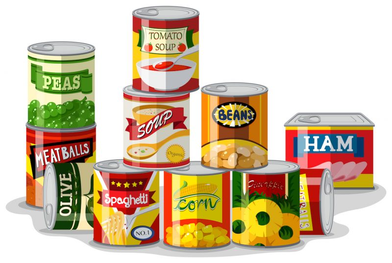 Are you using Canned foods?  avoid it as  it may harm your digestive system
