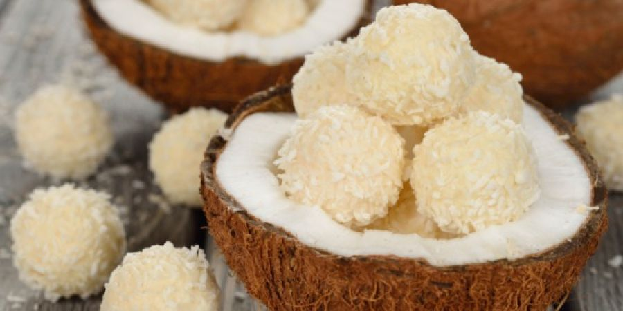 Amazing recipe to make delicious Coconut Til Ladoo at home