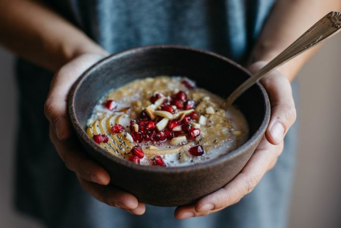Make this tasty and healthy  oatmeal in breakfast