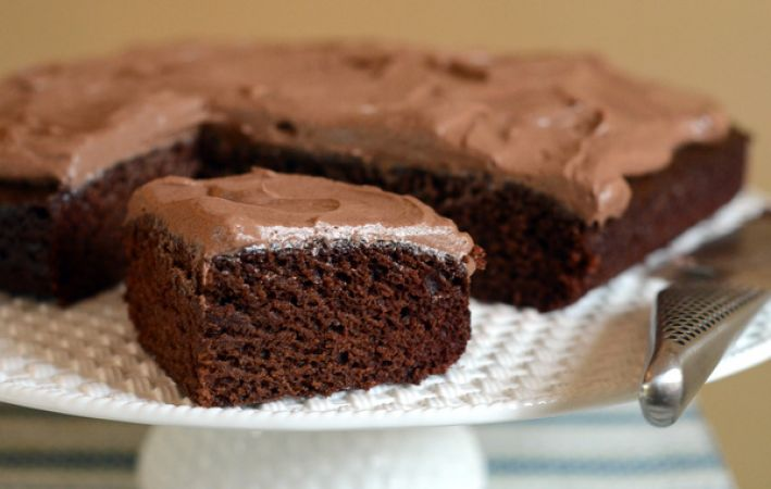 Recipe to make Eggless chocolate cake at home