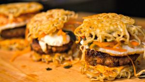 Ramen Noodle Burger That You Can't Afford To Miss !