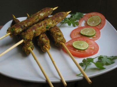 Learn how to make Gulnaar Seekh Kabab