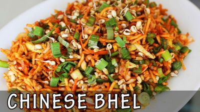 Chat- Pati Chinese Bhel Recipe, Can Be Prepared In Less Time