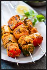 Apptetizer:  Indian Style Paneer Tikka recipe