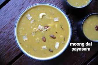 Recipe to make Moong Dal Payasam/ Kheer