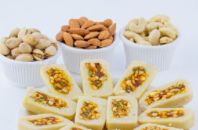 Make Dry Fruit Mawa sweets on the occasion of Ganesh Chaturthi