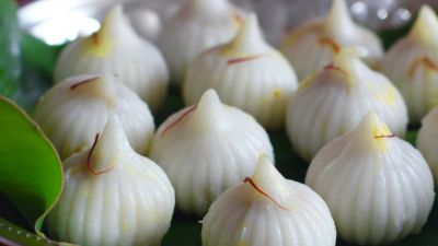The easiest way to make Modak, Here are the steps