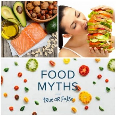 4 Food Myths about the vegetables, fruits and soft drink