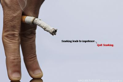 Smoking can be the reason for erectile dysfunction