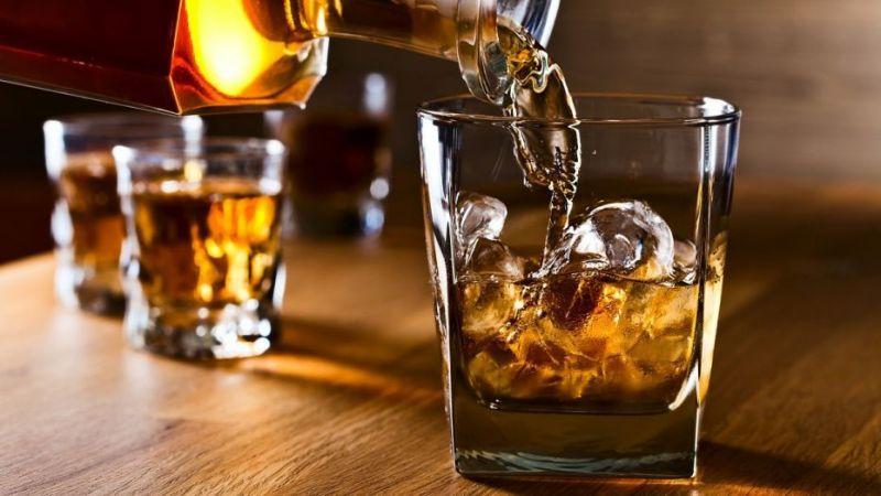 Drinking whiskey removes depression problem