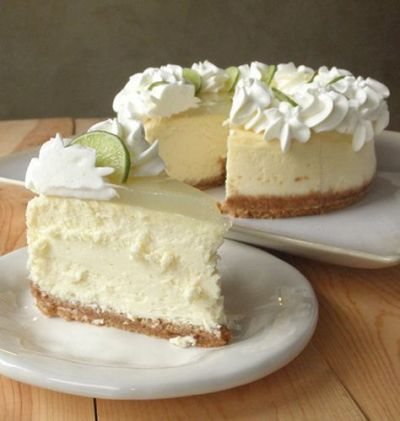 Christmas Special: Layered lime cheesecake