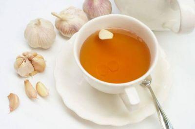 Garlic tea is beneficial for health in winter