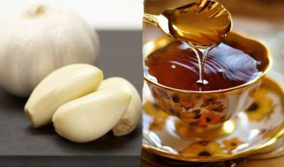 Garlic and honey boost the immune system