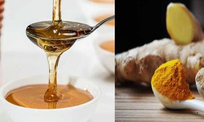 Turmeric and honey Reduces the lack of blood
