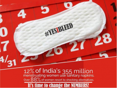Maneka Gandhi to launch 'YesIBleed' menstrual hygiene campaign on Feb20