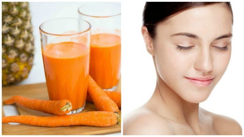 Use carrots and honey to enhance your skin