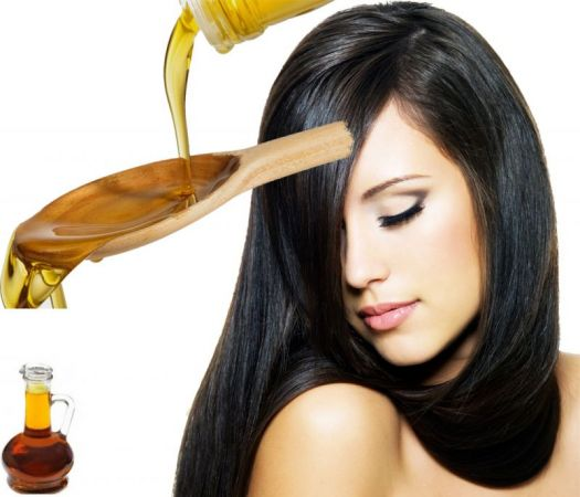 Get Shiny and dandruff free hair with mustard oil